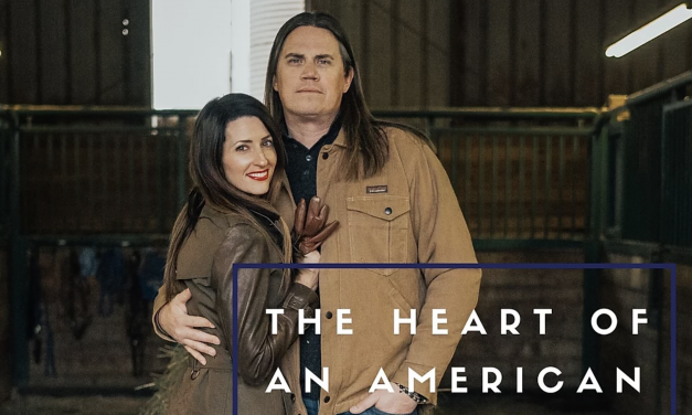 The heart of an american couple